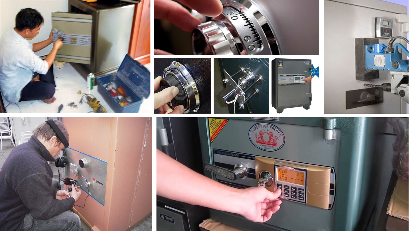 Sửa khóa két sắt đa dạng tại trungtamsuakhoatainha